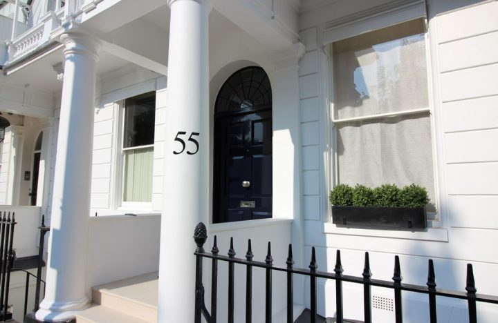 55 Cadogan Place project