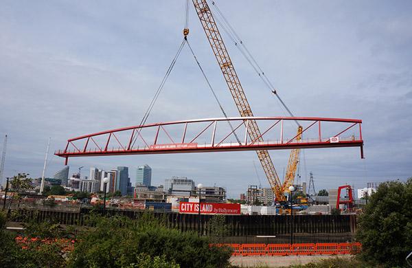 City Island Bridge Lift