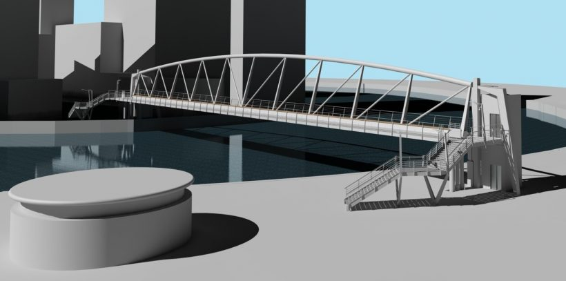 City Island Bridge Planning Permission