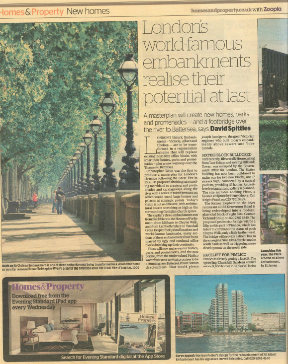 The Corniche in the Evening Standard