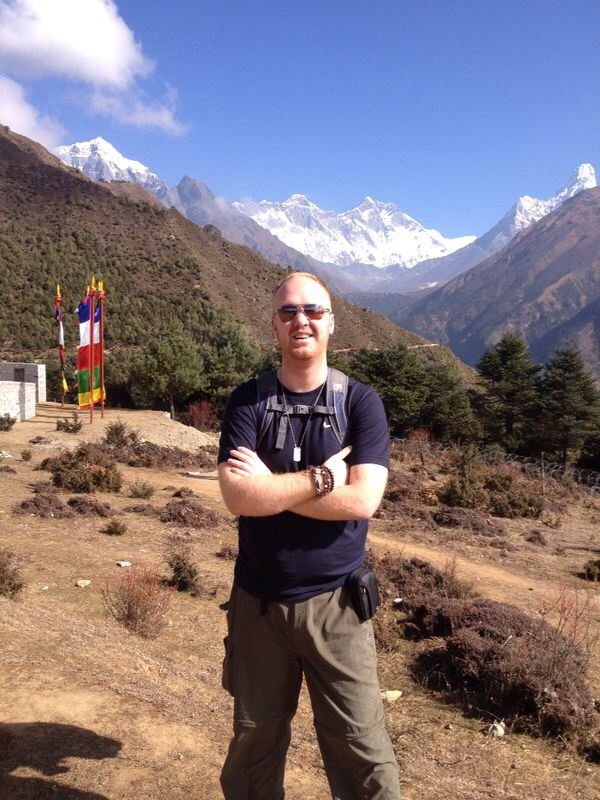 Nick Rumble Mount Everest