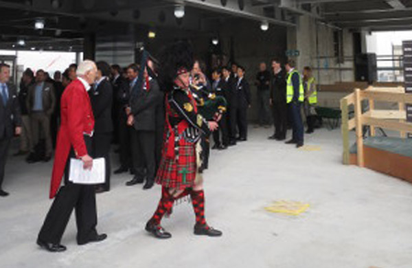 Mark Lane Topping-Out Ceremony