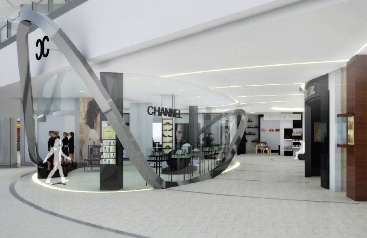 Heathrow Terminal 2A Retail project