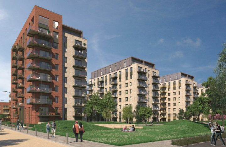 Southall Waterside project Phase A